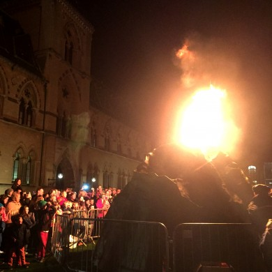 London Volcano erupts in Oxford
