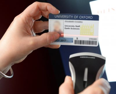 Scan your university card