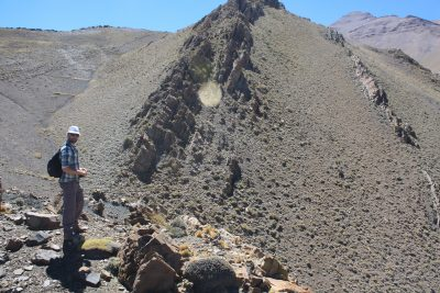 Rio Atuel, one of the remote locations in the Argentinian Andes where samples were obtained
