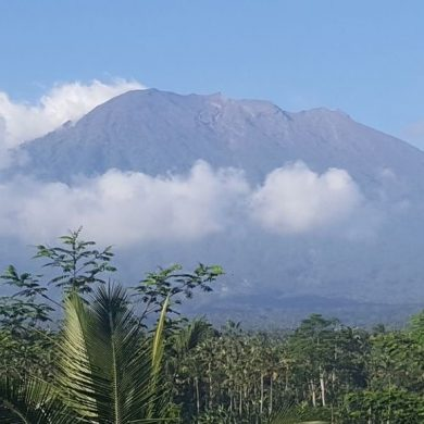 A long history of volcanic eruptions at Gunung Agung, Bali