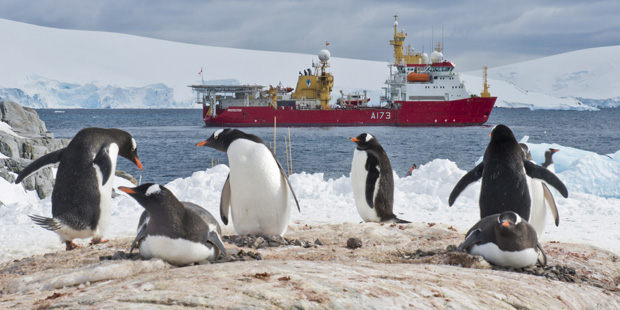 The UK's role in the Antarctic