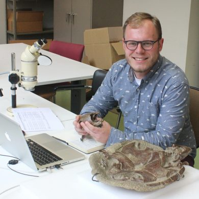 Earth Sciences DPhil Graduate Awarded Alfred Sherwood Romer Prize in Vertebrate Palaeontology