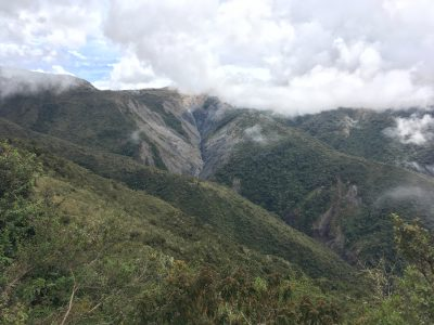 Landslides in the high Andes of Peru – studying erosion of carbon